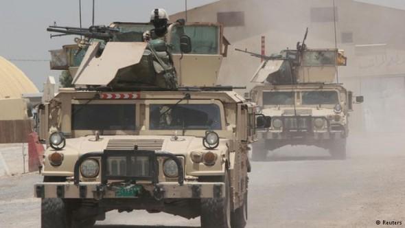 AS FORÇAS IRAQUIANAS ESTÃO PRÓXIMAS DA ENTRADA DE TIKRIT