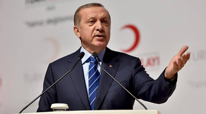 Erdogan pede a Teerã que retire forças de Iêmen, Síria e Iraque