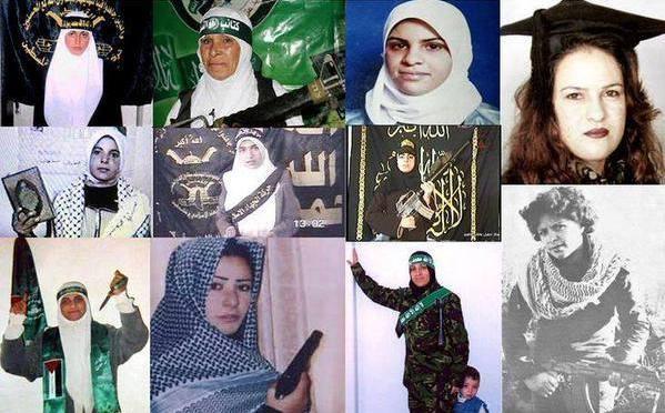 Palestinos comemoram o 'Dia Internacional da Mulher' homenageando as terroristas que mataram civis israelenses