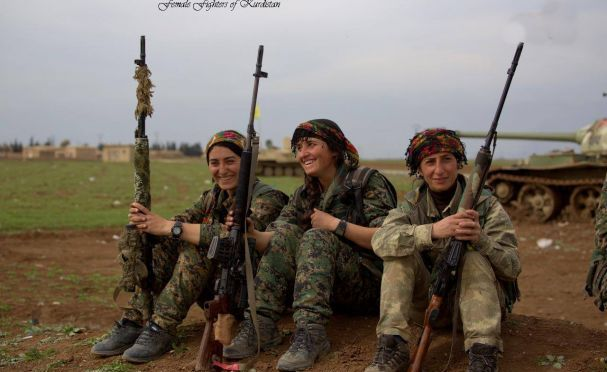 Conheça as mulheres temidas pelo ISIS
