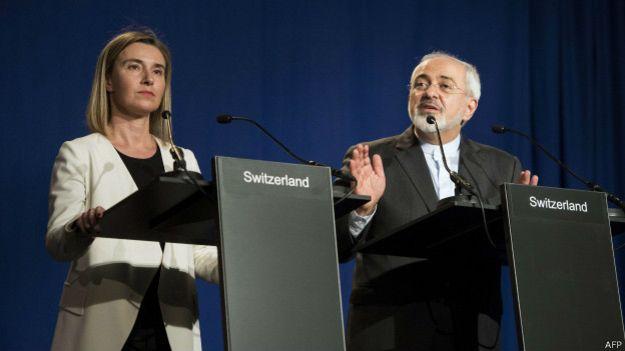 Esboço do acordo alcançado para o programa nuclear do Irã