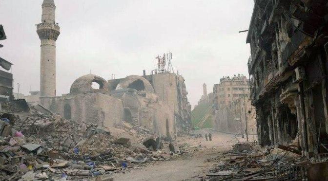 Rebeldes sírios bombardeiam parte de Aleppo dominada pelo governo