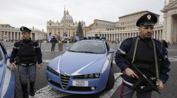 Itália detém suspeitos de planejar ataque contra o Vaticano