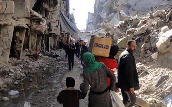 """ONU alerta para """"matança de inocentes"""" no campo de refugiados palestinos na Síria"""