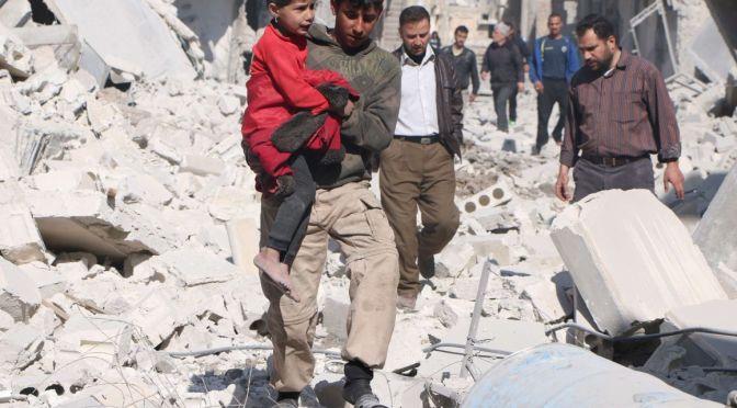 UE promete dobrar a 1,1 bilhão de euros a ajuda humanitária na Síria