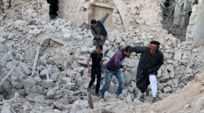Bombardeio americano contra jihadistas em Aleppo mata ao menos 52 civis