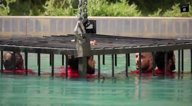 Estado Islâmico divulga supostas execuções de espiões por afogamento e explosões