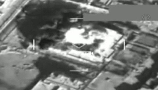 Vídeo mostra bombardeio turco contra o Estado Islâmico