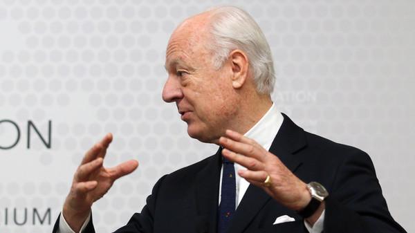 Enviado da ONU propõe novo plano no conflito sírio