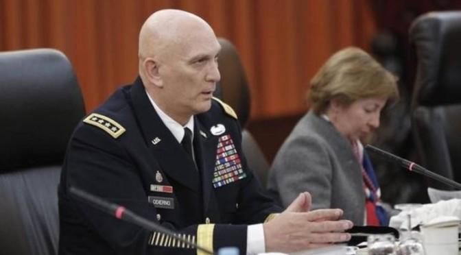 Prestes a se aposentar, chefe do Exército americano sugere enviar soldados para enfrentar EI