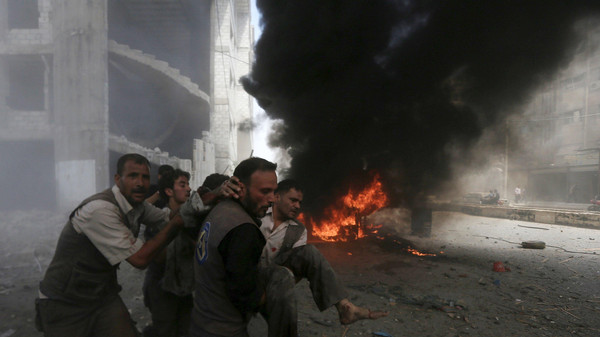 """ONU """"horrorizada"""" por ataques a civis sírios"""