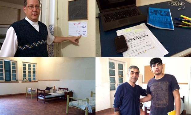Sírios refugiados em igreja no Rio narram dramas e fugas da guerra