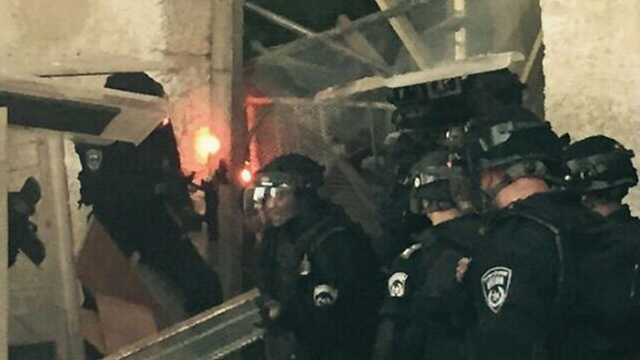 Clashes break out on Temple Mount on eve of Rosh Hashanah