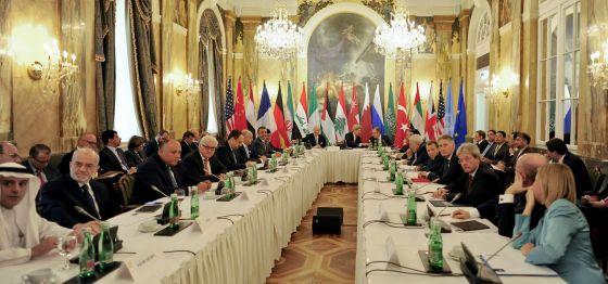 Cinco grandes potências negociam uma saída política para guerra síria