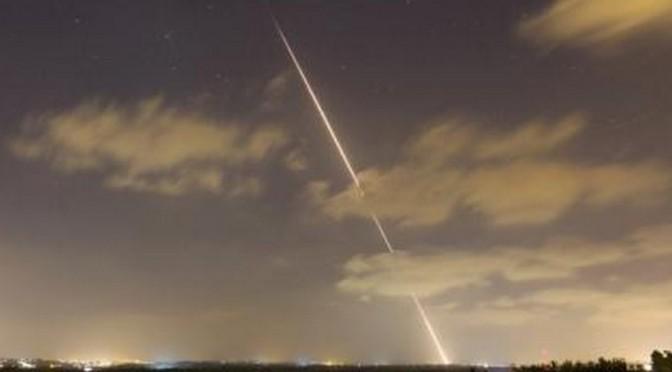 Foguete de Gaza explode em fronteira perto de Israel