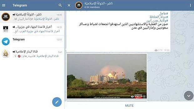 O novo aplicativo preferido do 'Estado Islâmico'
