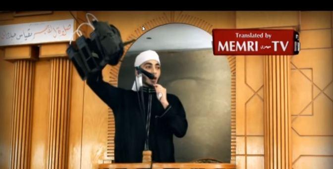 Pregador em Gaza levanta cinto de explosivos em sermão na sexta-feira