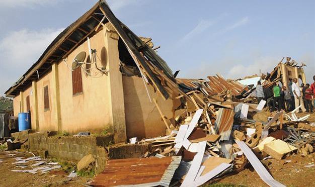 Cristãos chadianos estão deslocados e vivem em lugares improvisados