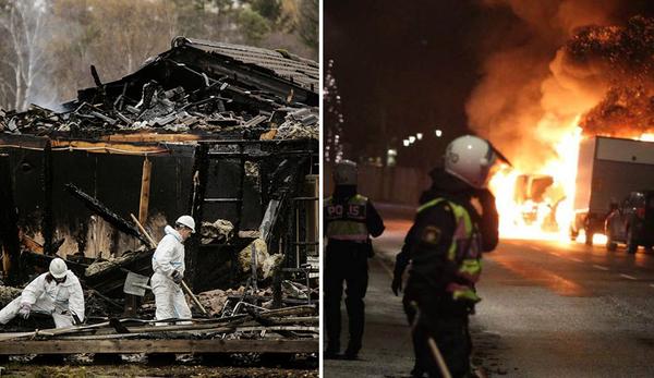 A Suécia Pende para a Anarquia