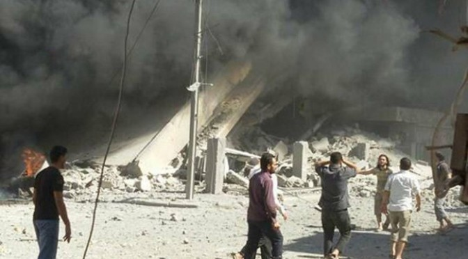 Ataques aéreos russos matam 254 civis, incluindo 83 crianças e 42 mulheres