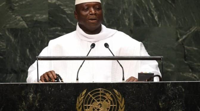 Presidente da Gâmbia anuncia que país é um 'Estado Islâmico'