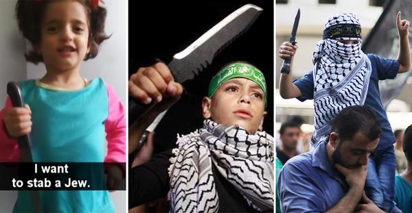 Facas da Fatah e Facas do ISIS: Sacrifício de Crianças Palestinas