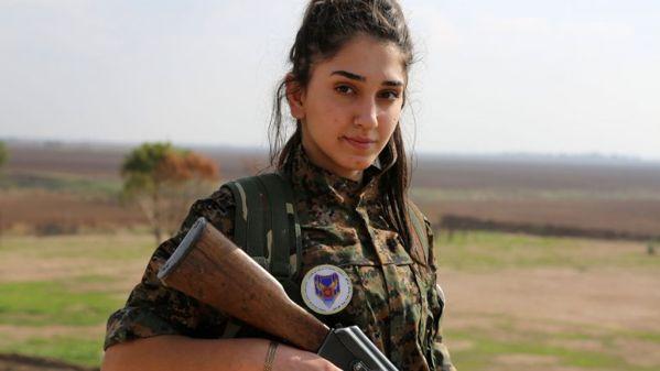 Jóvenes cristianas dejaron a sus hijos para luchar contra Estado Islámico