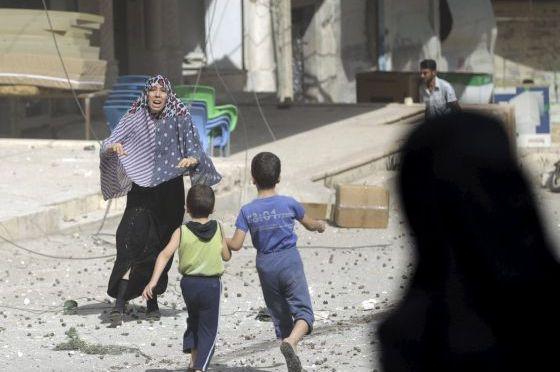 Síria: 353 civis mortos e cerca de 1000 feridos em 2 semanas de crescentes ataques aéreos por parte das forças aéreas da Rússia e do regime de Bashar al-Assad