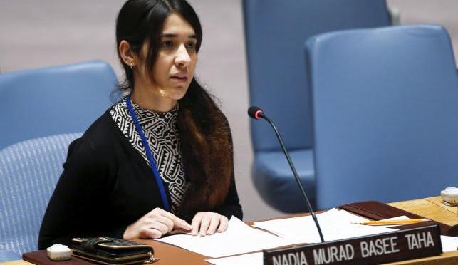 Mulher Yazidi implora ao Conselho de Segurança da ONU para acabar com Estado Islâmico