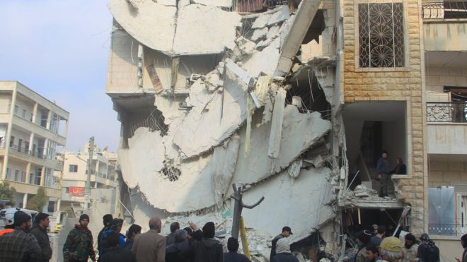 Conflito na Síria: ataques aéreos russos mataram 200 civis