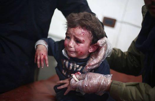 Crianças são as maiores vítimas da guerra síria