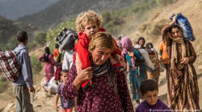 Minoria étnica pressiona para que massacre pelo Estado Islâmico seja considerado genocídio