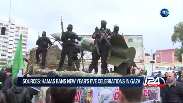 Líderes palestinos prometem um ano novo de violência e morte