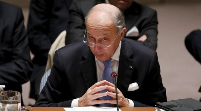 France demands Russia end Syrian operations