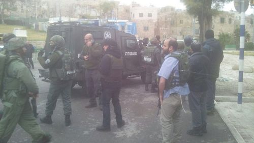 Ataque terrorista punzante en Jerusalem