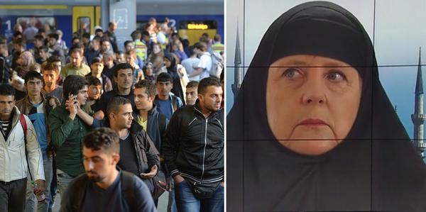 A Islamização da Alemanha em 2015