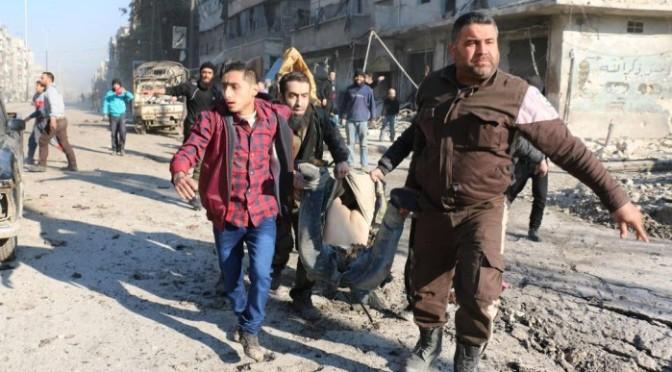 Mais de 500 foram mortos em dez dias desde início de ofensiva em Aleppo