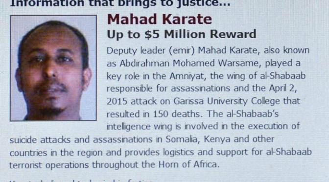 Quênia diz ter matado chefe da Inteligência do al-Shabaab