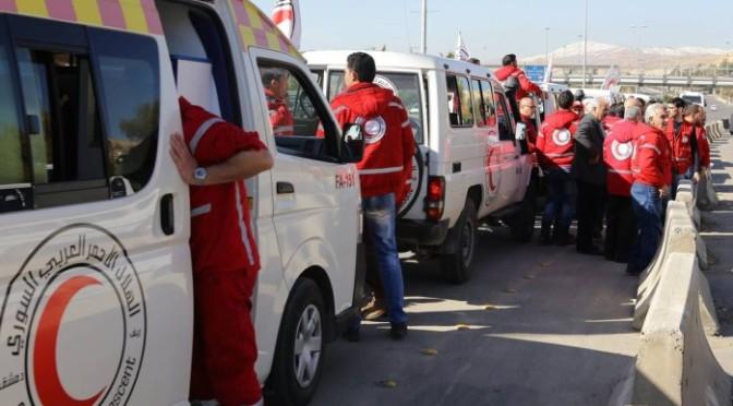 Comboios de ajuda humanitária partem para áreas sitiadas da Síria