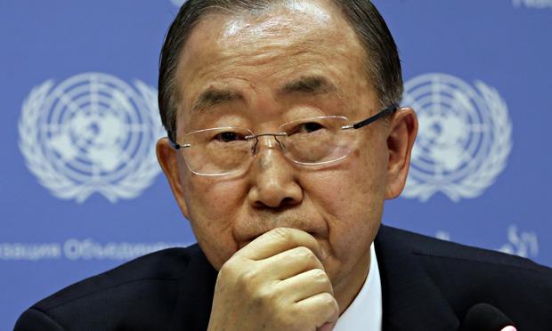 UN chief Ban 'alarmed' over Hamas vow to rebuild Gaza tunnels