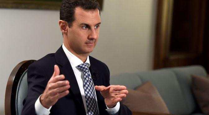 """Bashar al-Assad: """"Há 80 países que apoiam os terroristas na Síria"""""""
