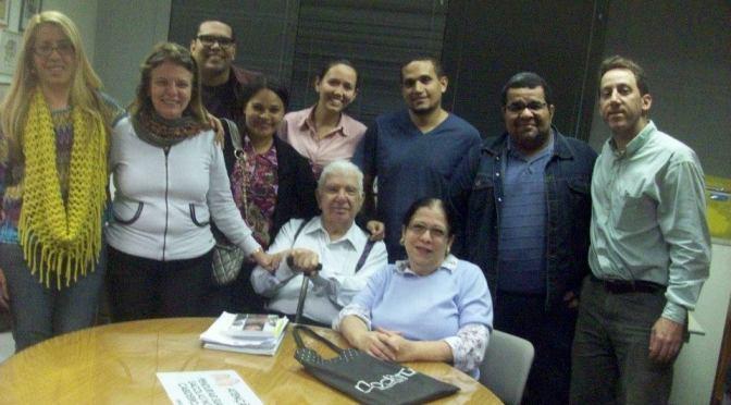 Participação no Grupo de Estudos do Holocausto – B'nai B'rith & ARI (2015)