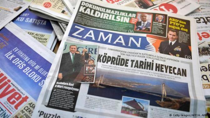Após intervenção do governo, jornal turco muda linha editorial