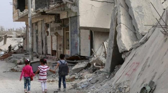 Síria: 250 mil crianças estão sitiadas em 'prisões a céu aberto'