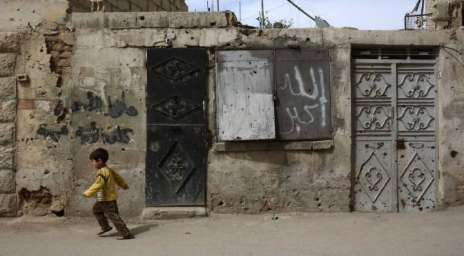 Um terço das crianças sírias nasceu durante a guerra, aponta Unicef