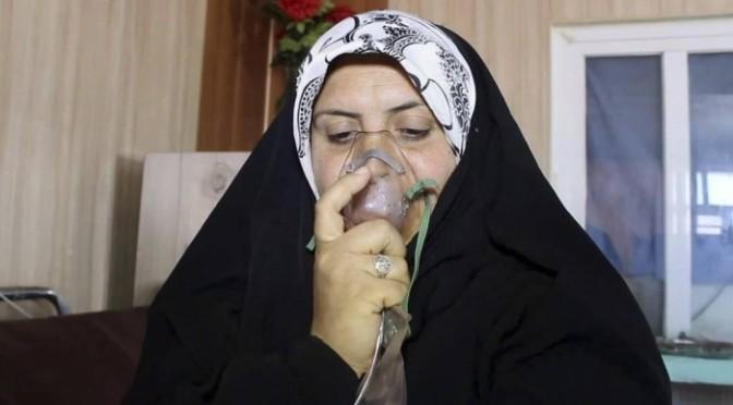 Ataque químico do Estado Islâmico mata menina e fere 600 no Iraque