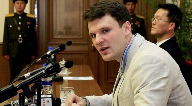 Coreia do Norte condena jovem dos EUA a 15 anos de trabalhos forçados