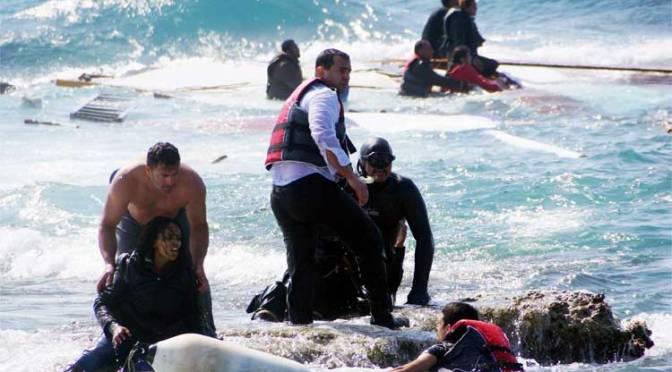 Naufrágio no Mediterrâneo pode ter deixado 500 mortos