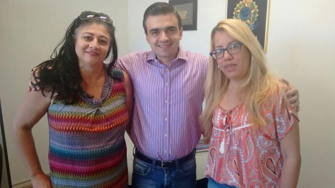 Vereador Bonezinho apoia EVM para palestrar na Escola Legislativa de Araras