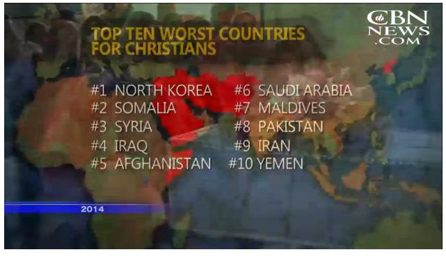 """""""Campanha de Morte"""" já eliminou mais de 7.000 cristãos no último ano"""